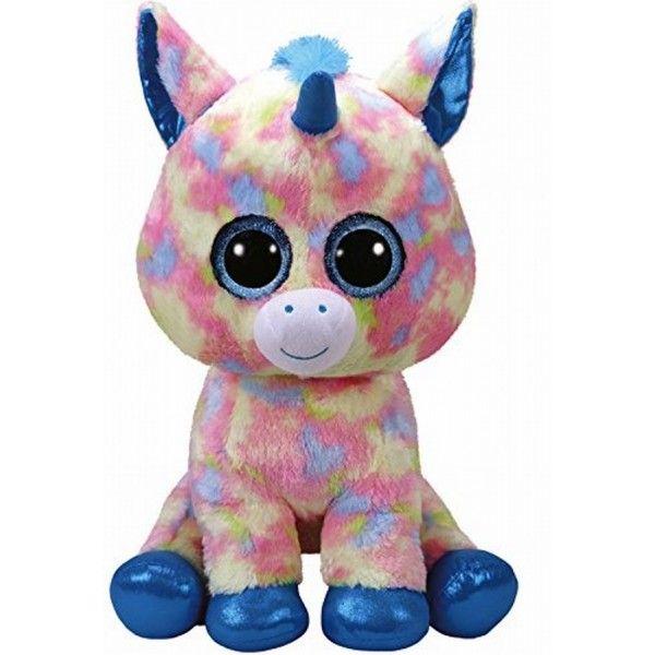 Plus Boos, Unicorn Albastru TY, 42 cm, 3 ani+