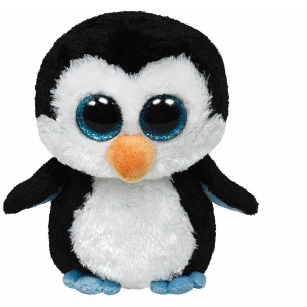 Plus Boos, Waddles Pinguin TY, 15 cm, 3 ani+