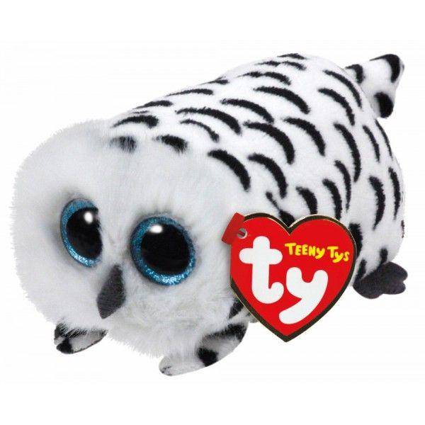 Plus Teeny Tys, Bufnita Nellie TY, 10 cm, 3 ani+