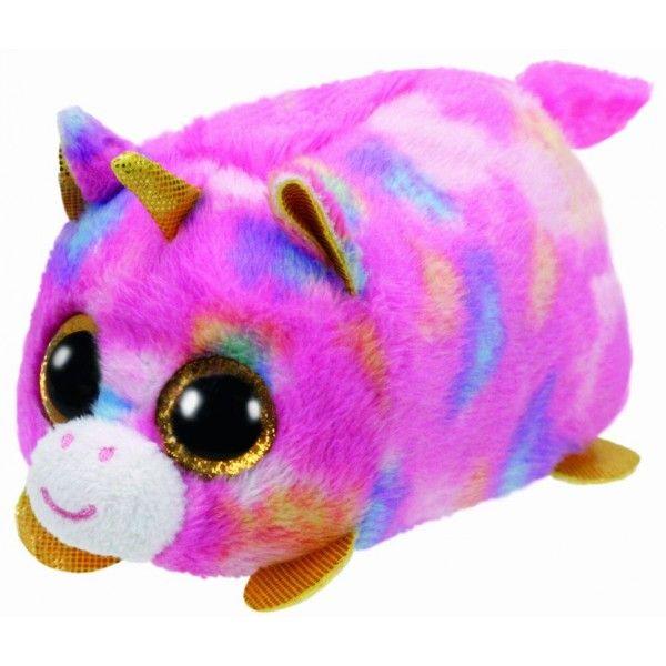 Plus Teeny Tys, Star Unicorn TY, 10 cm, 3 ani+