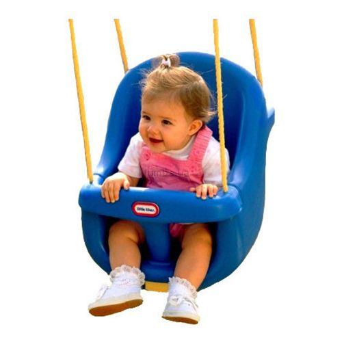 leagan bebe copii albastru plastic bara protectie