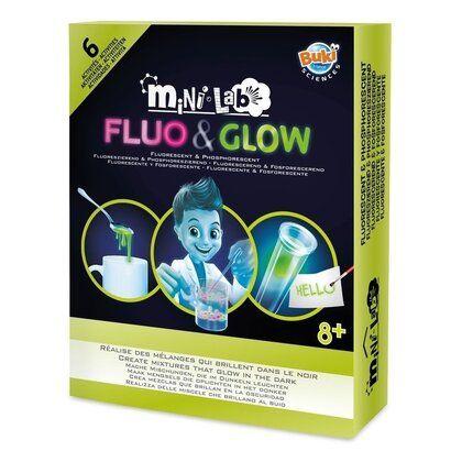 Mini laboratorul Fluo & Glow Buki, 8 ani+