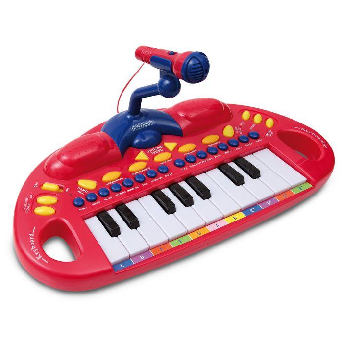 Orga electronica cu microfon Bontempi