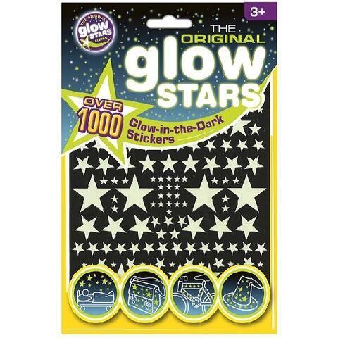 Set 1000 abtibilduri reflectorizante Stele Brainstorm, 36 luni+