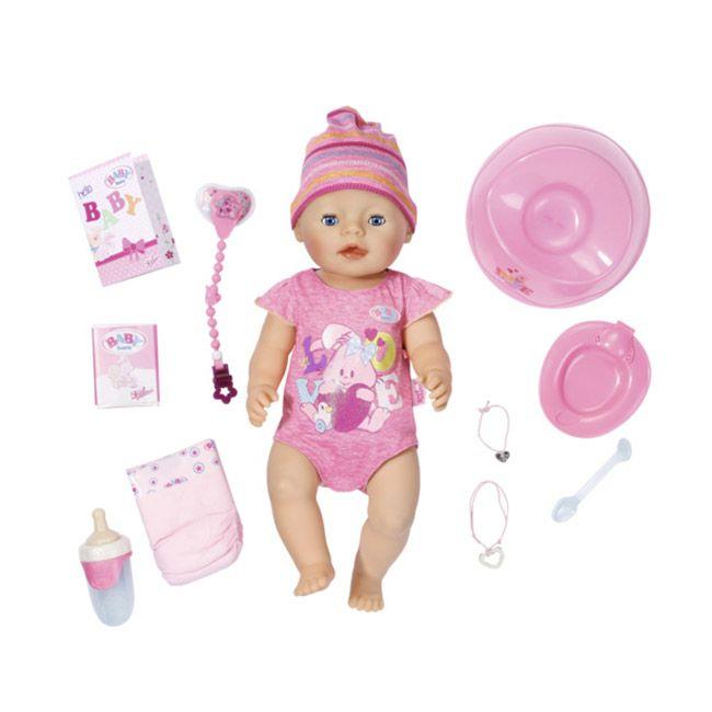 Papusa interactiva Baby born Zapf