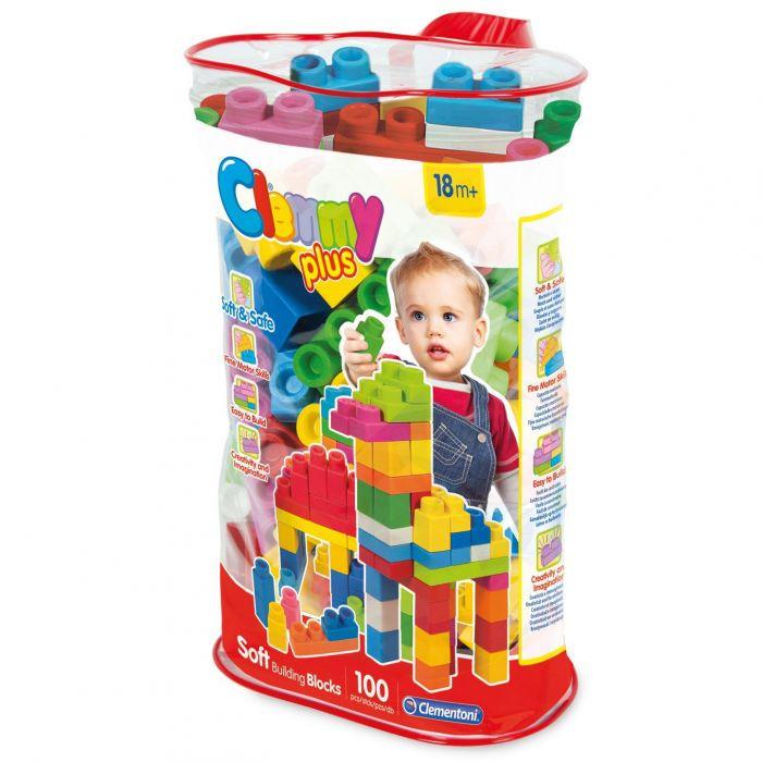 plasa set 100 cuburi moi contructie clemy