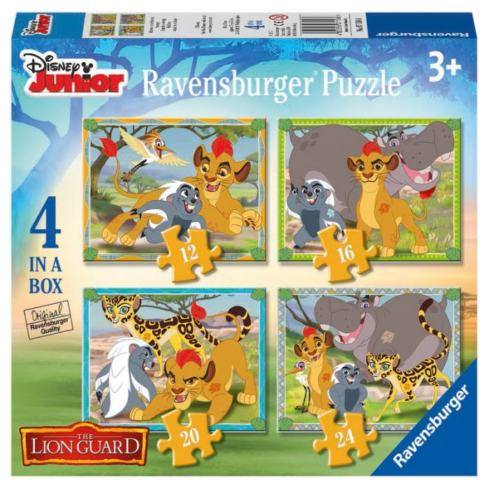 Puzzle Garda felina Ravensburger