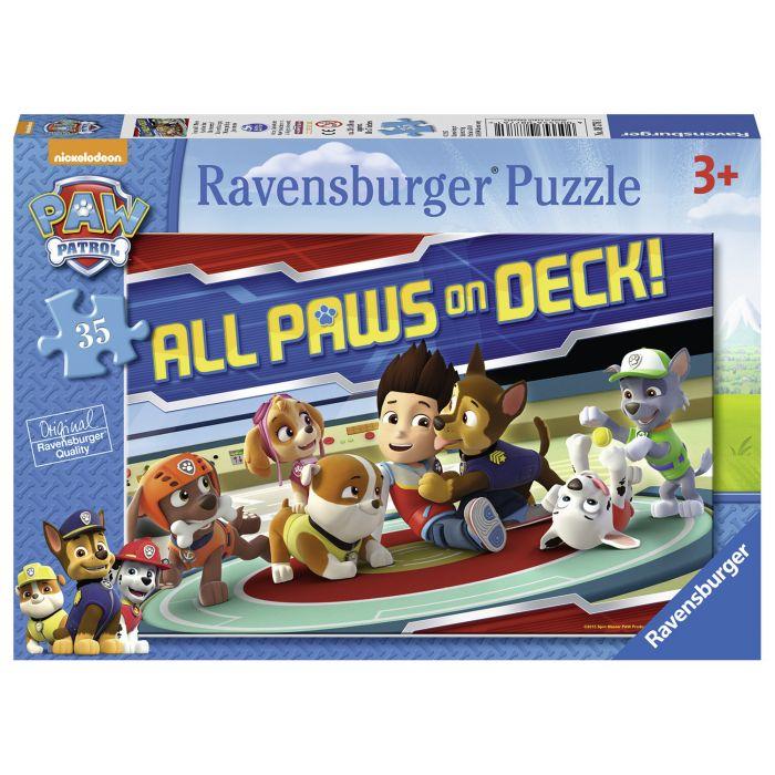 Puzzle Patrula catelusilor 35 piese Ravensburger