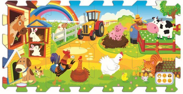 Puzzle spuma Distractie la ferma Trefl, 2 ani+