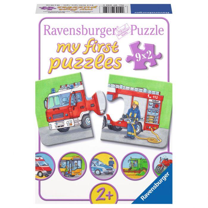 puzzle ravensburger vechicule masini pentru copii