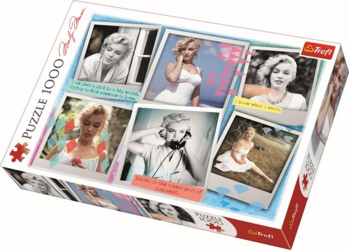Puzzle Marilyn Monroe Trefl, 1000 piese, 14 ani+