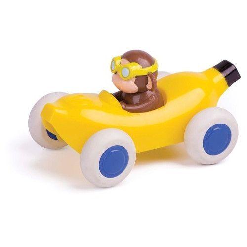 Maimuta in Masinuta Banana Cute Racer VikingToys, 12 luni+
