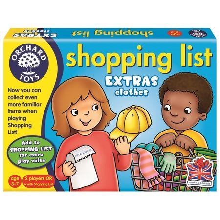 Joc educativ Shopping List Clothes Orchard, in limba engleza, 36 luni+