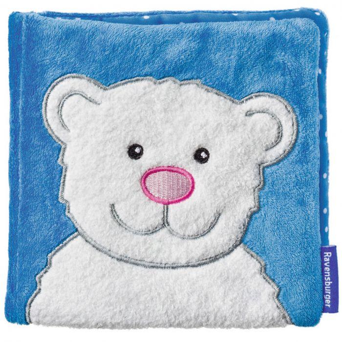 Carte de plus cu ursulet Ravensburger pentru bebelusi