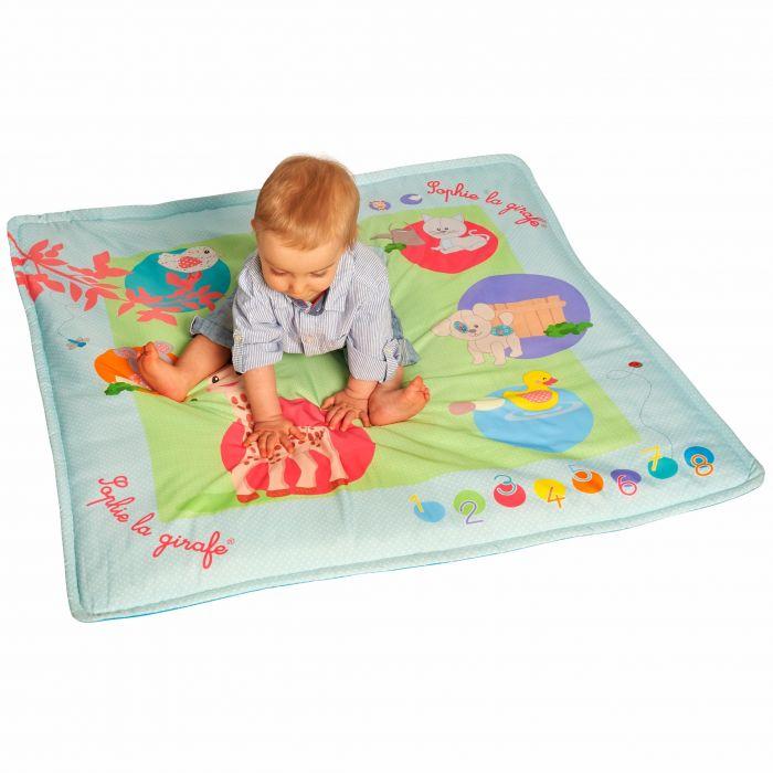 Salteluta interactiva Touch & Play Girafa Sophie Vulli