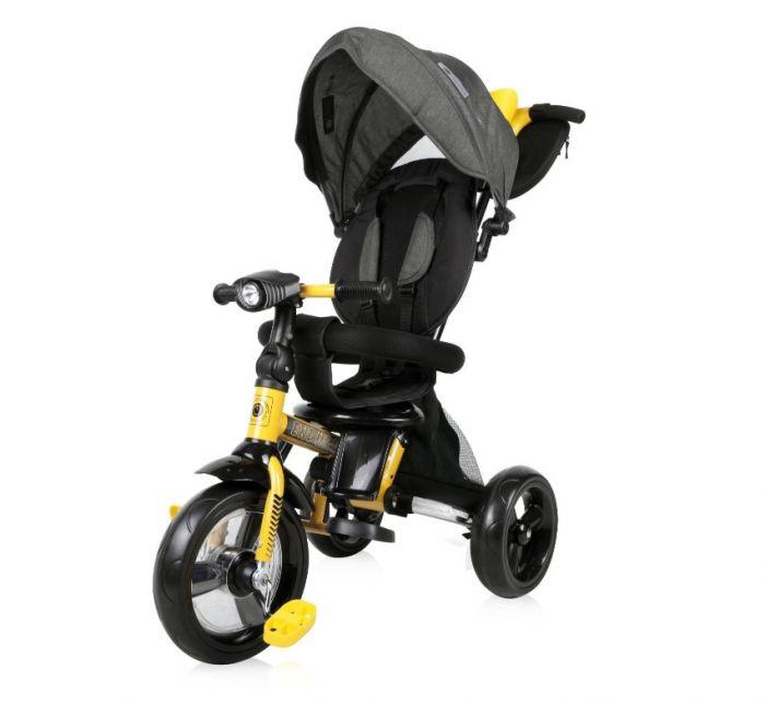 Tricicleta Enduro Lorelli Black & Yellow, 12 luni+, Galben