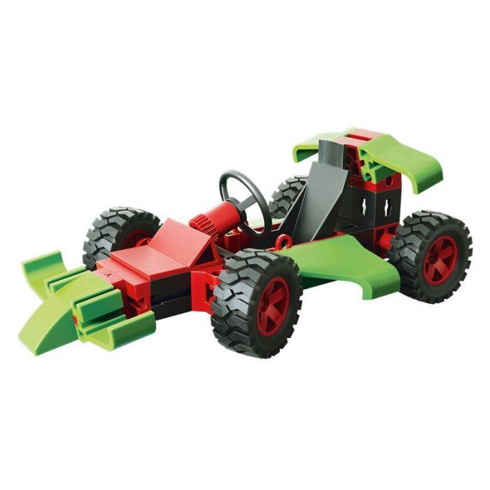 Set constructie Advanced Racers Fischertechnik, 3 modele, 7 ani+
