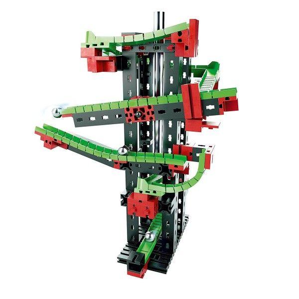 Set constructie Profi Dynamic S Fischertechnik, 3 modele, 7 ani+