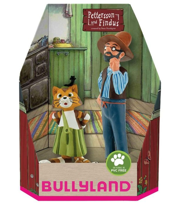 Set figurine Pettersson si Findus Bullyland, 36 luni+