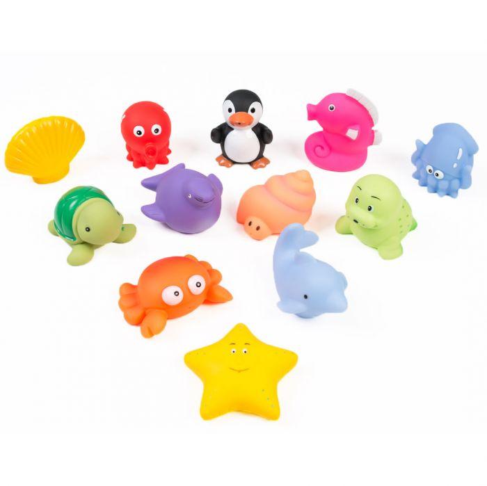Set jucarii baie Ludi multicolor plastic