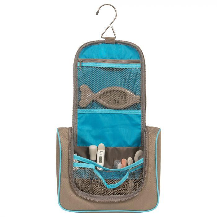 trusa ingrijire bebelusi bo jungle BJB400300, unghiera, forfecuta, perie de par, seringa gradata pentru medicamente, termometru digital, termometru pentru apa, aspirator nazal manual