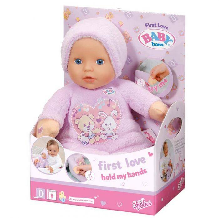 Papusa bebelus tine-ma de maini Zapf Baby Born