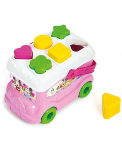 Autobuz cu forme de sortat Minnie Mouse Clemmy