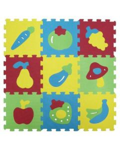 Covoras-puzzle cu fructe Ludi