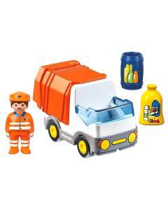 Set figurine Camion deseuri Playmobil 1.2.3