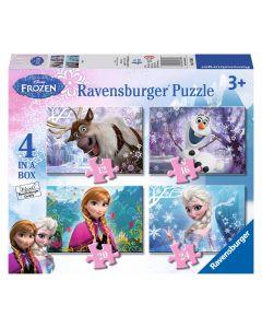 Puzzle Frozen 12/16/20/24 piese Ravensburger