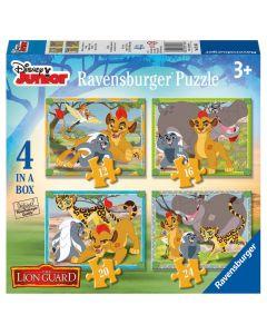 Puzzle Garda Felina 12/16/20/24 piese Ravensburger