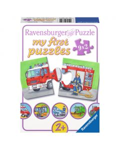 Puzzle Vehicule motorizate 9 x 2 piese Ravensburger