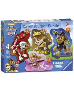 Puzzle Patrula catelusilor 10/12/14/16 piese Ravensburger