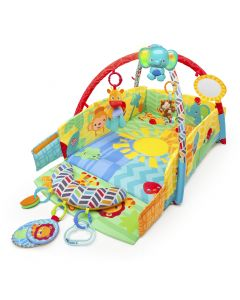 Saltea de joaca 5 in 1 Sunny Safari Baby's Play Place™ Bright Starts