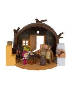 Set figurine Casa ursului Masha & the Bear