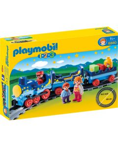 Set figurine si trenulet Playmobil 1.2.3