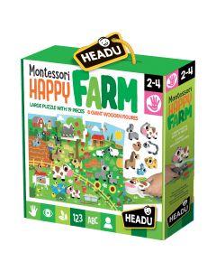 Set Montessori Ferma fericita Headu