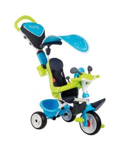 Tricicleta Baby Driver Comfort Blue Smoby
