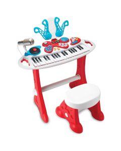 Orga muzicala 37 clape cu scaunel Winfun