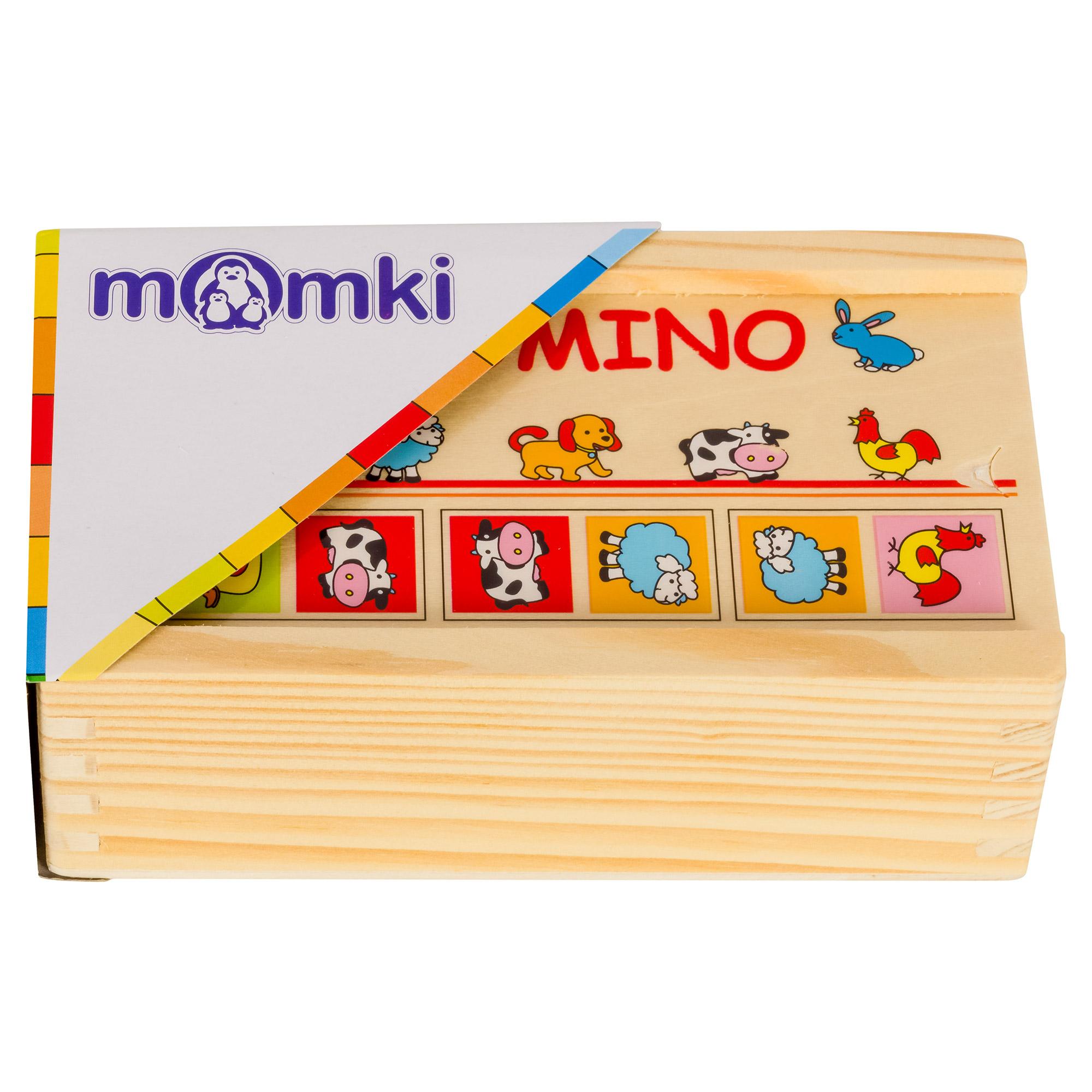 Domino din lemn cu ani...