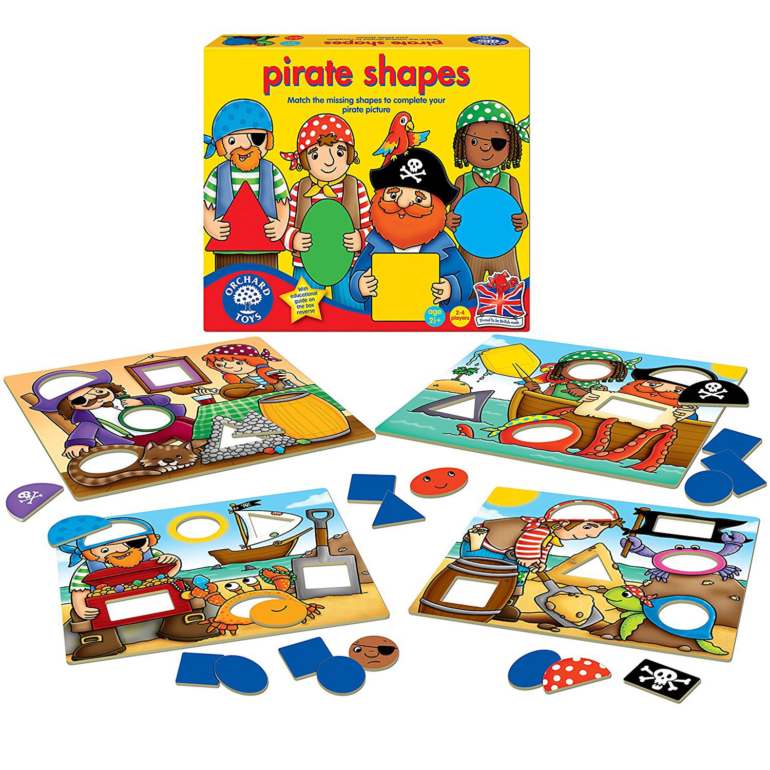 Joc educativ Pirates S...