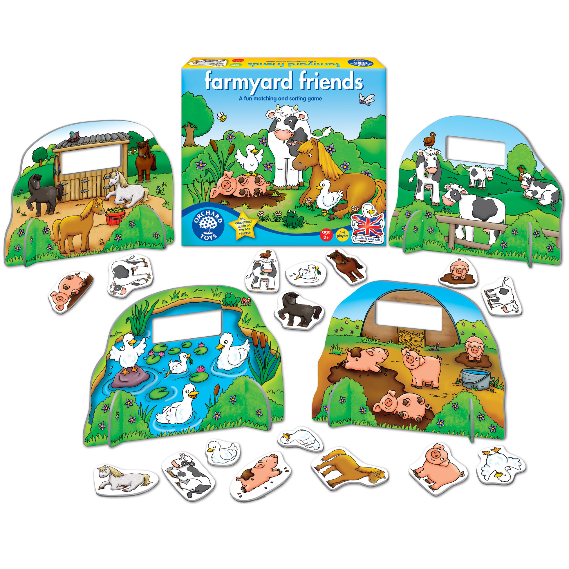 Joc educativ Farmyard ...