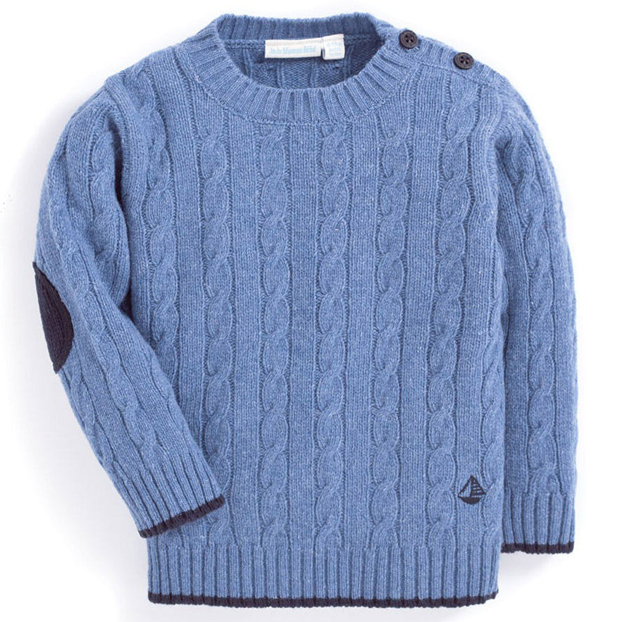 Pulover Cable Knit Joj...