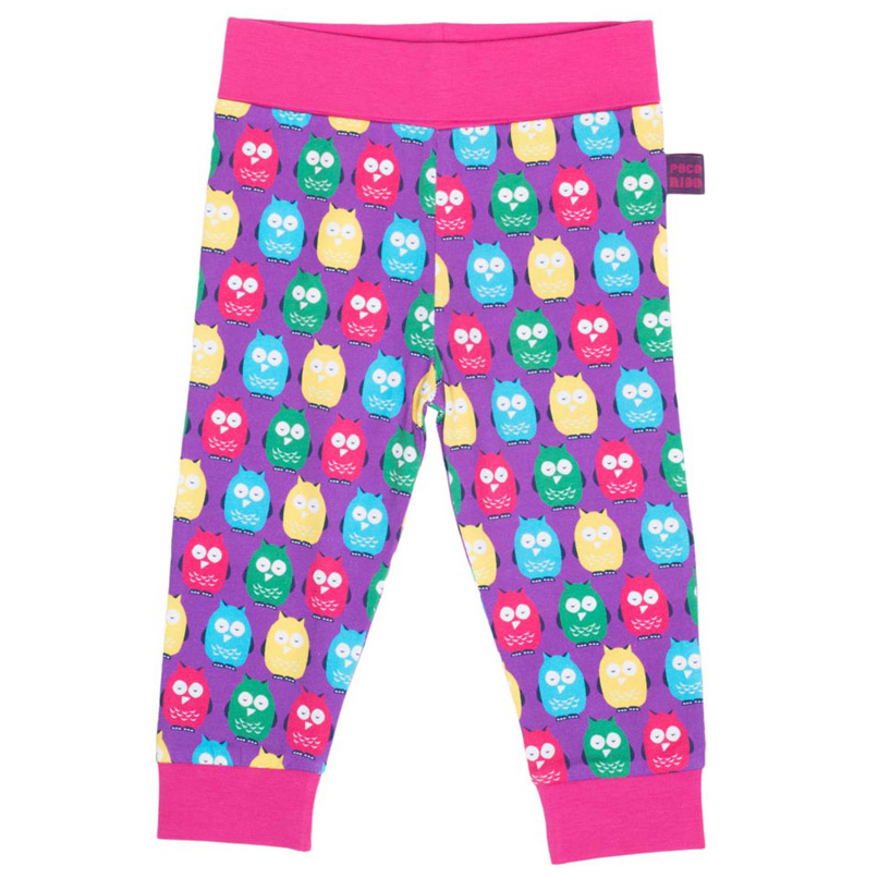 Pantaloni Purple Owls ...