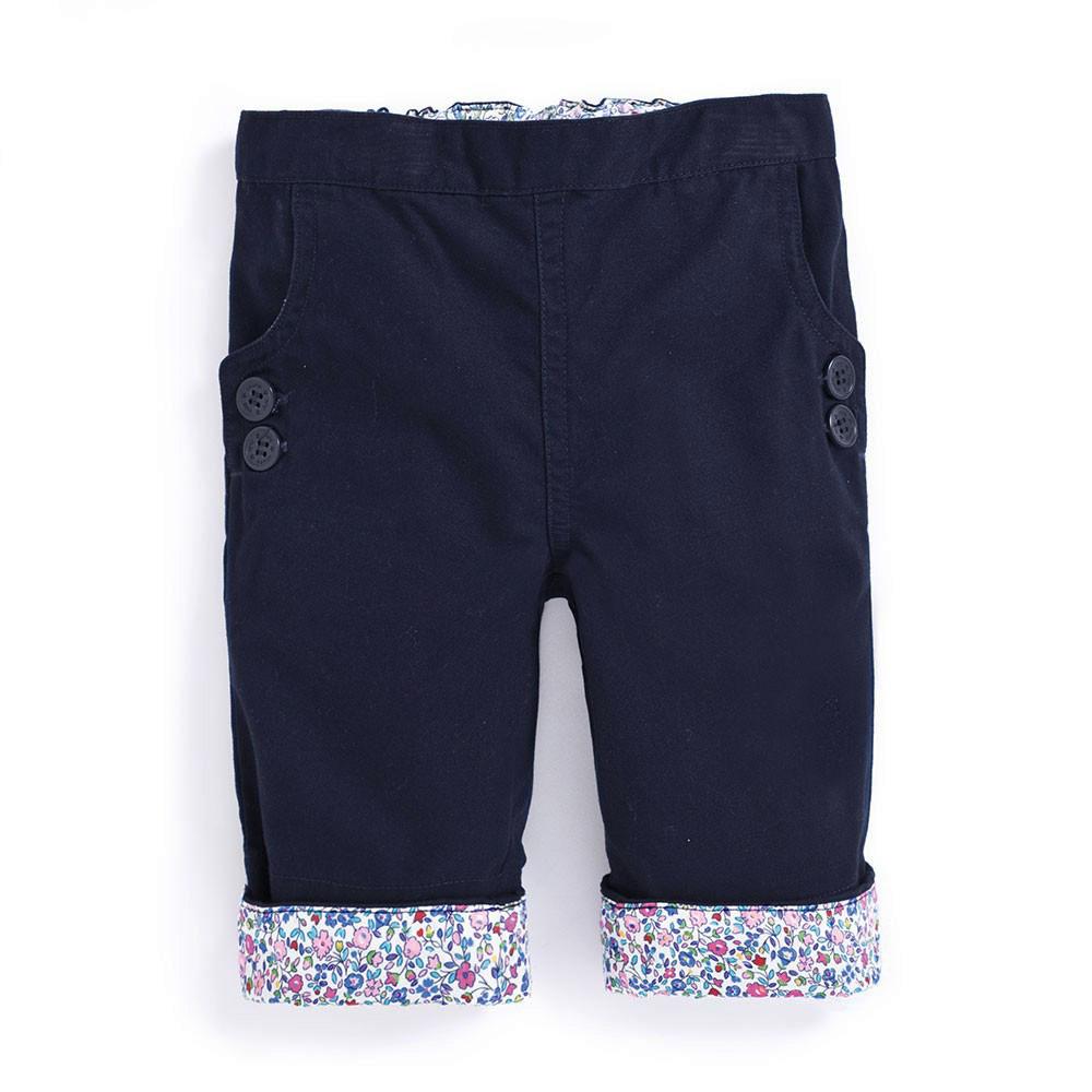 Pantaloni Twill Capri ...