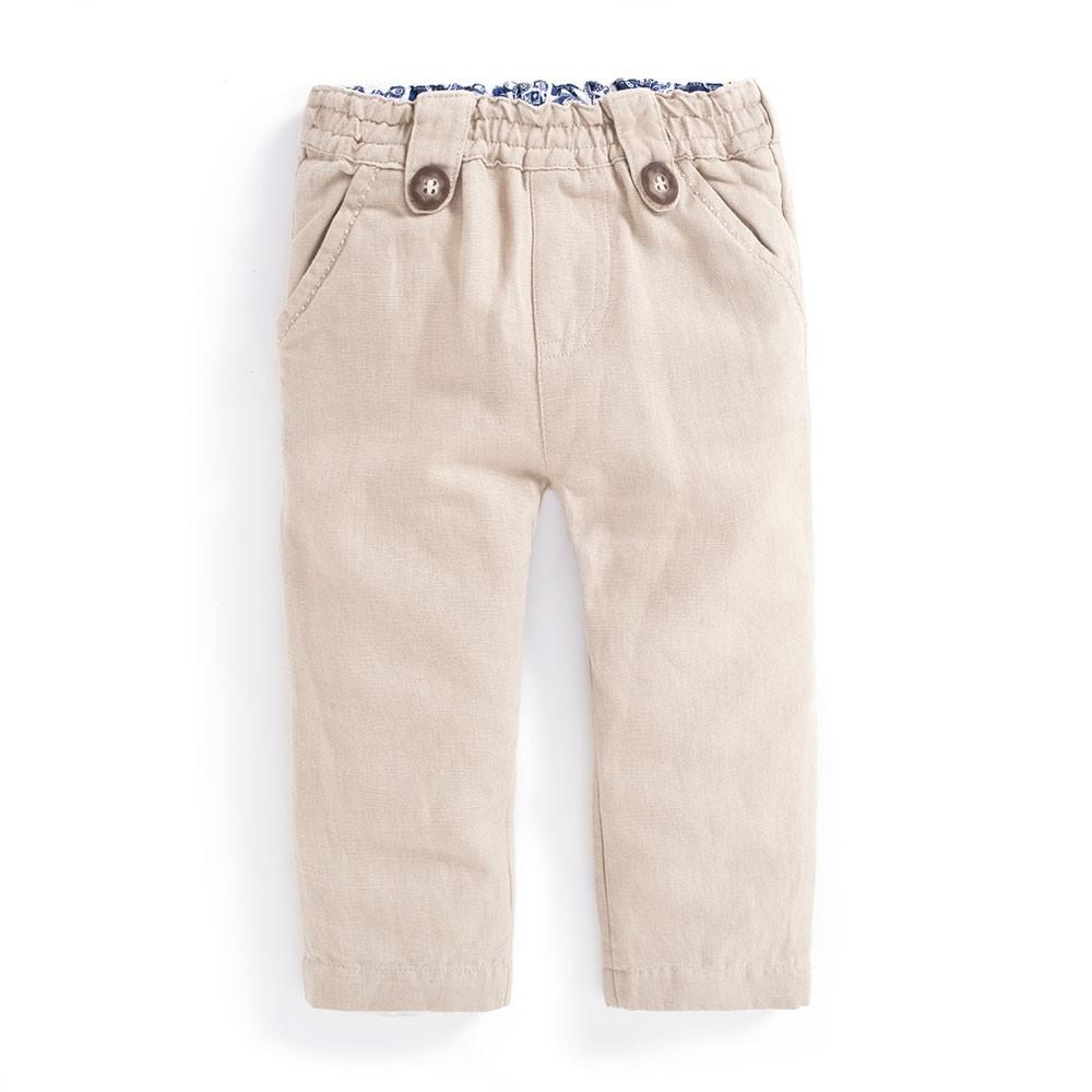 Pantaloni Linen Mix Jo...