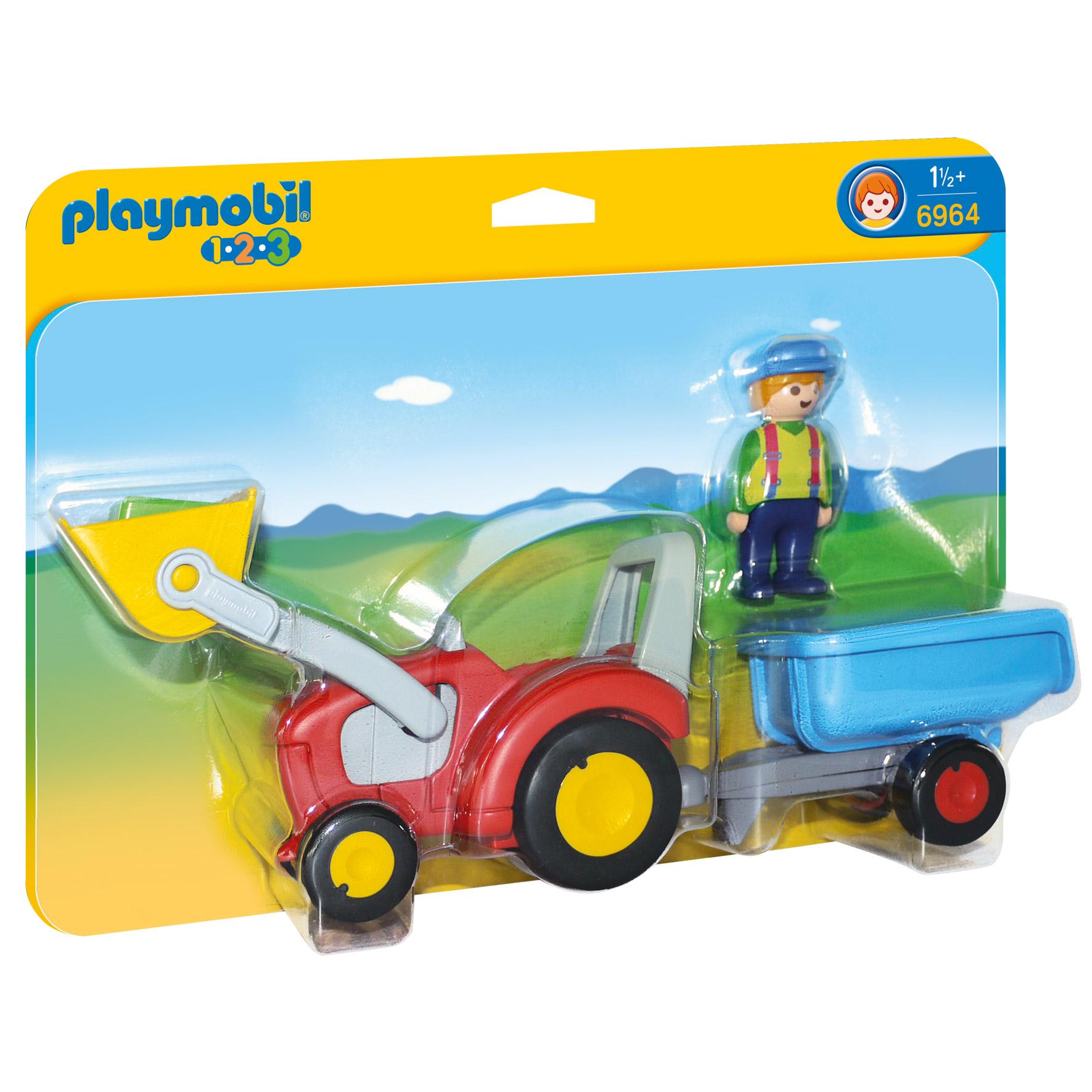 Set figurine Tractor c...
