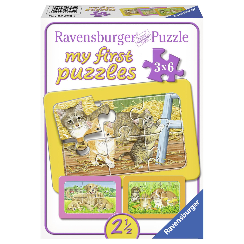 Puzzle Animale 3 x 6 p...