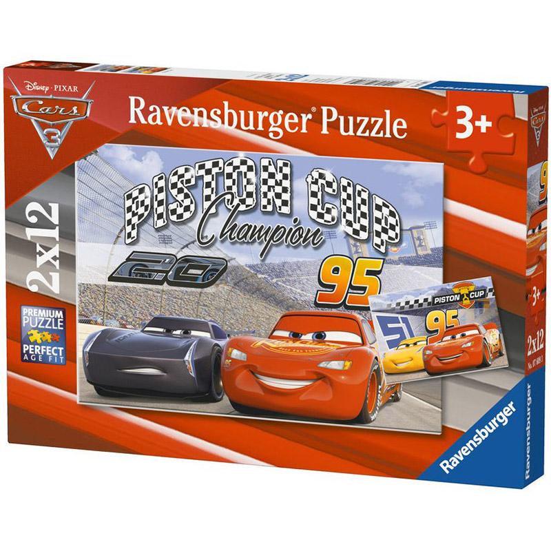 Puzzle Cars 2 x 12 pie...