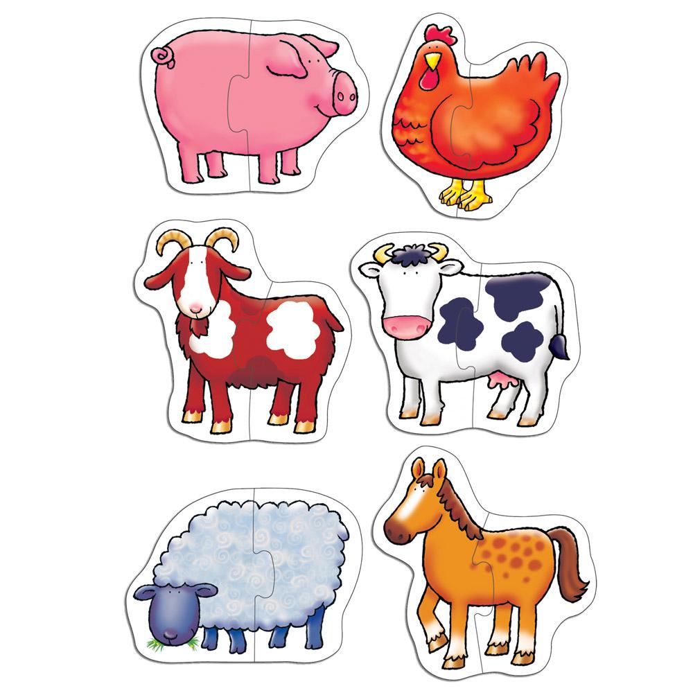 Set 6 puzzle-uri Farmy...